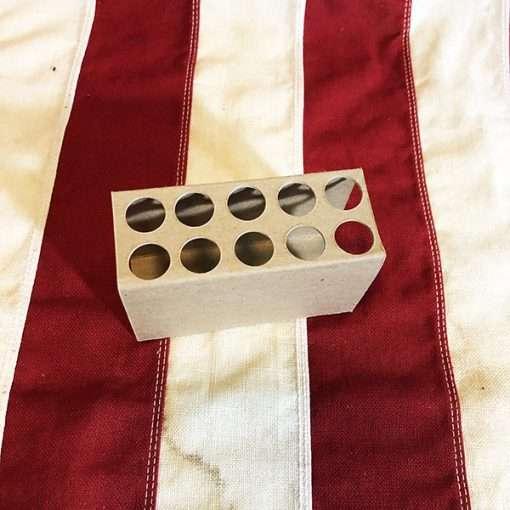 WWII 10 Cartridge Dummy Insert WW2