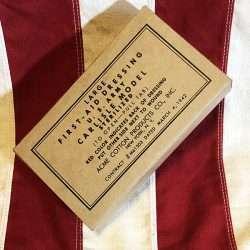 WWII Large Carlisle Bandage Box 1942 Reproduction. WW2