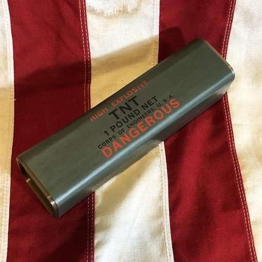 WWII One Pound TNT Block Reproduction WW2