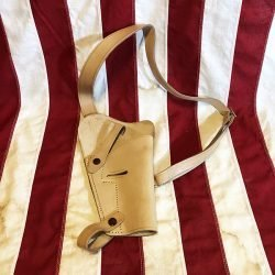WWII 45 Caliber Shoulder Holster Reproduction Back WW2