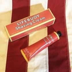 WWII Lifebuoy Shaving Cream Tube and Box WW2 Reproduction