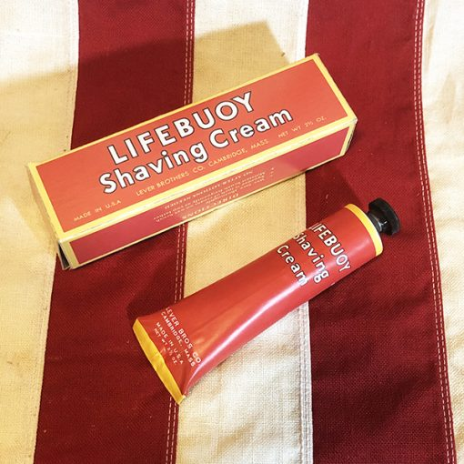 WWII Lifebuoy Shaving Cream Tube and Box WW2 Reproduction