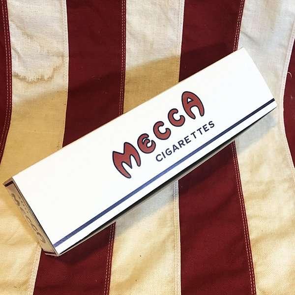 WWII Mecca Cigarette Carton Reproduction