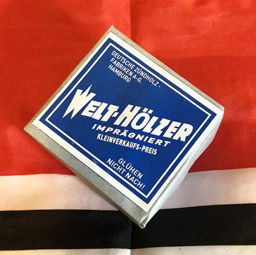 WWII German Welt Holzer Matches WW2 12 pack