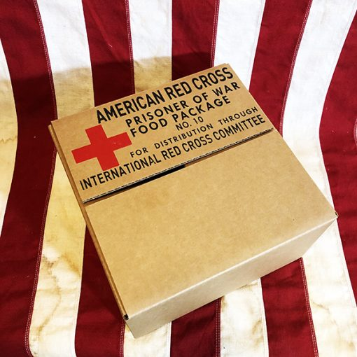 Red Cross POW Food Package WWII reproduction WW2 International Red Cross Prisoner of War Food Box
