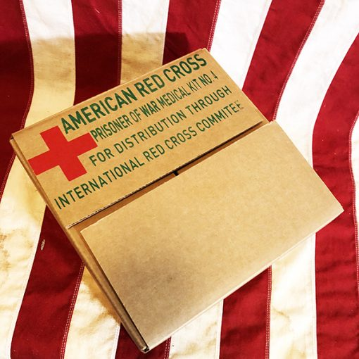 WWII Red Cross POW Medical Kit Box WWII reproduction WW2 International Red Cross Prisoner of War