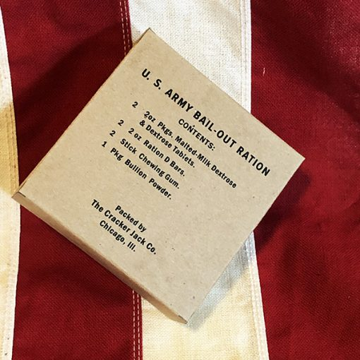 WWII Bail Out Ration Box WW2 Reproduction