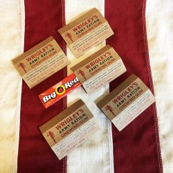 WWII Wrigleys Army Ration Gum WW2 reproduction