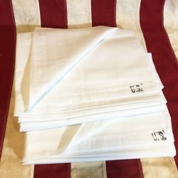 2 US Military White Bed Sheets