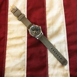 WWII British General Service Watch Reproduction WW2