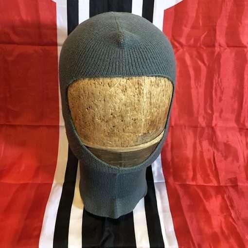 WWII German Balaclava Wool Head covering hood ww2