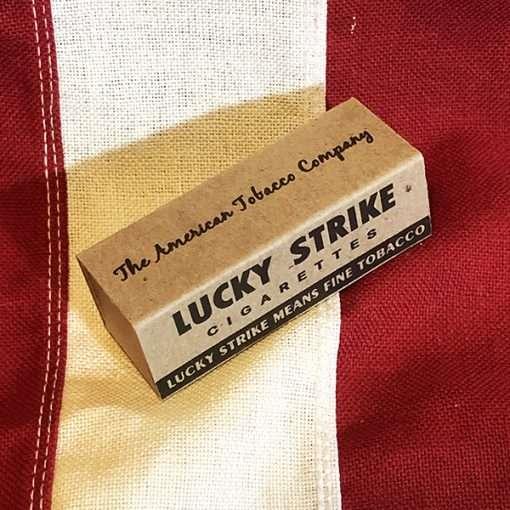 WWII Lucky Strike C Ration Box WW2
