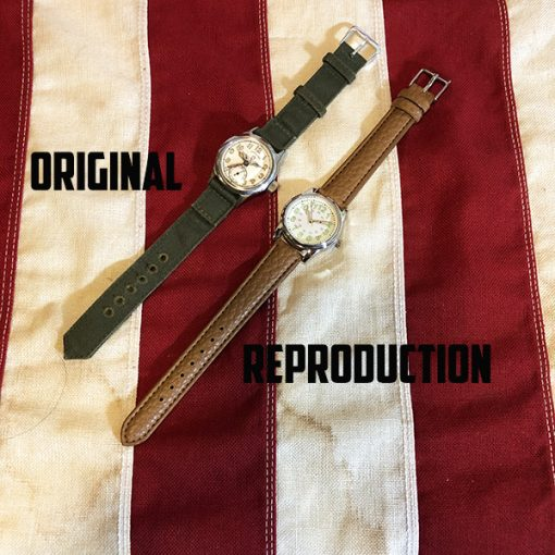 WWII Watch original vs reproduction