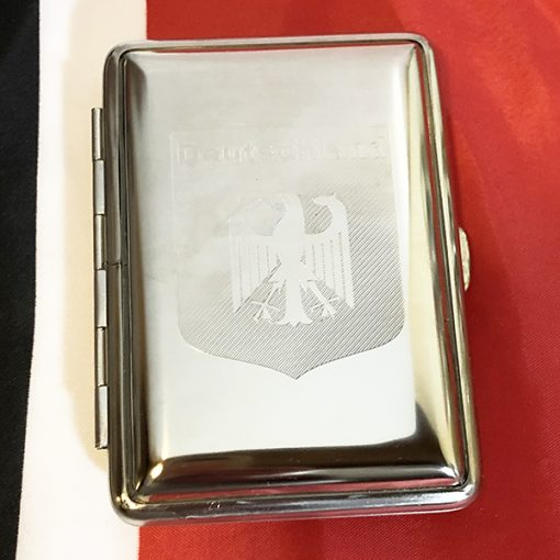 Deutschland German Cigarette Case Reproduction front view
