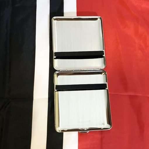 WWII Stuttgart German Cigarette Case Inside view WW2 reproduction
