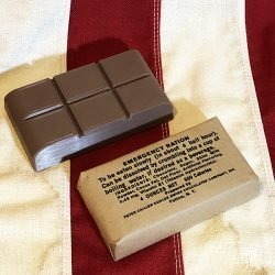 WWII D Ration 4 ounce Bar Wrapper WW2 Reproduction