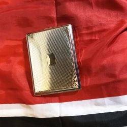 WWII Leipzig German Cigarette Case WW2 Reproduction