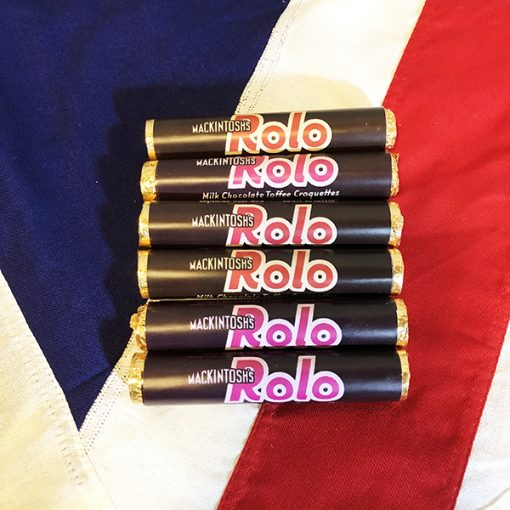 WWII Rolo Chocolate Caramel Candy WW2 Reproduction