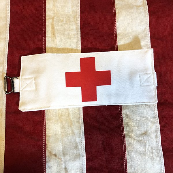 WWII USN Corpsman Armband / Brassard Reproduction