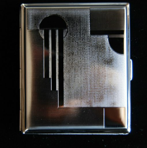 WWII Prague Cigarette Case WW2 German Reproduction