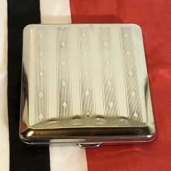 WWII Stuttgart German Cigarette Case WW2 Reproduction