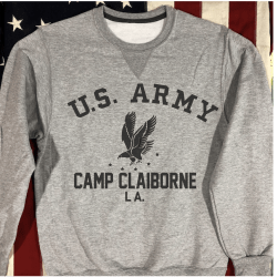 Camp Claiborne WW2 Sweatshirt