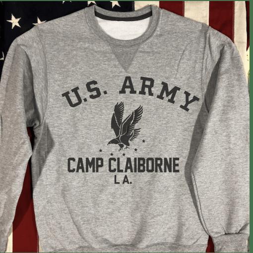 Camp Claiborne WW2 Sweatshirt