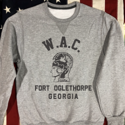 WW2 WAC WAAC Ft Oglethorpe Georgia Sweatshirt