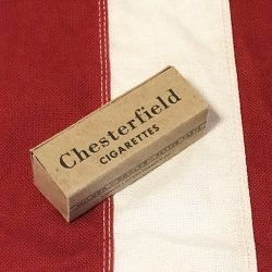 WWII Chesterfield C ration box reproduction