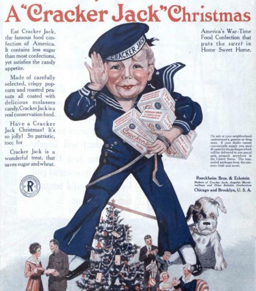 WWI Cracker Jack Ad